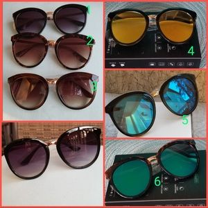 Accessories - 2919 women mirror mirrod sunglasses 100%